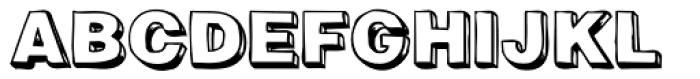 Woodcutter Font UPPERCASE