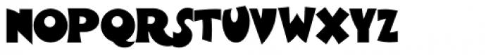 Wooden Shoe Revue NF Font LOWERCASE