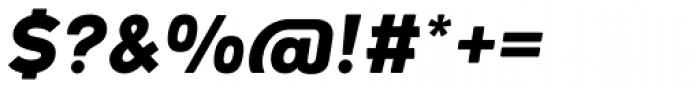 Woodford Bourne PRO Black Italic Font OTHER CHARS