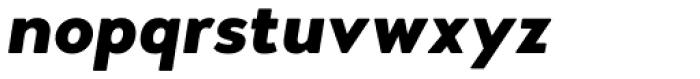 Woodford Bourne PRO Black Italic Font LOWERCASE