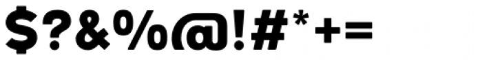 Woodford Bourne PRO Black Font OTHER CHARS