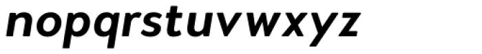 Woodford Bourne PRO Semi Bold Italic Font LOWERCASE