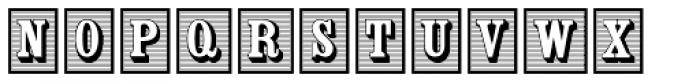 Woodhaven Initials JNL Font UPPERCASE