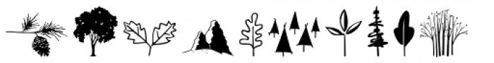Woodland Doodles Font LOWERCASE