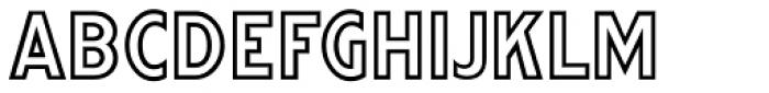 Woodlawn JNL Font UPPERCASE