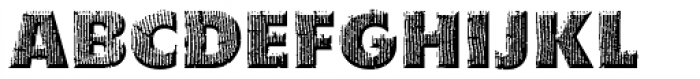 Woodpecker Font UPPERCASE