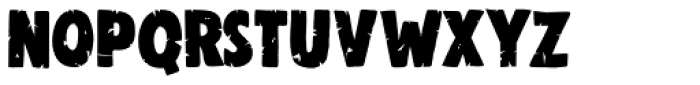 Woolwich Eroded Font LOWERCASE