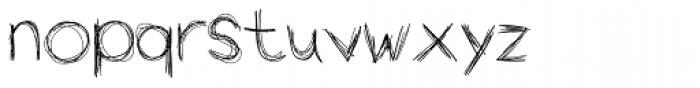 Wopi Script No 2 Font LOWERCASE