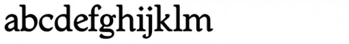 Worcest Round SH Medium Font LOWERCASE