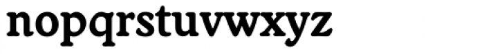 Worcester Rounded Bold Font LOWERCASE