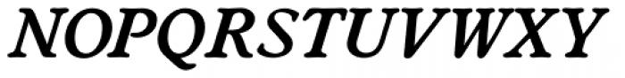 Worchester EF DemiBold Italic Font UPPERCASE