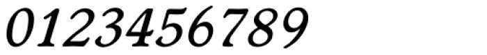 Worchester EF Medium Italic Font OTHER CHARS