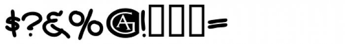 Wordplay Font OTHER CHARS
