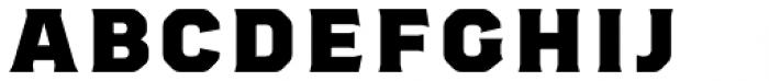 Worker 3D Base Font UPPERCASE