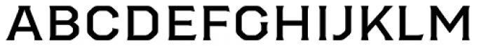 Worker Regular Font LOWERCASE