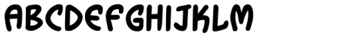 Wormtongue Bold Font LOWERCASE