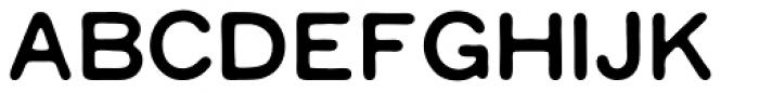Worn Gothic Black Font UPPERCASE