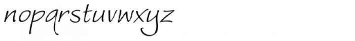 Worstveld Sling Oblique Font LOWERCASE