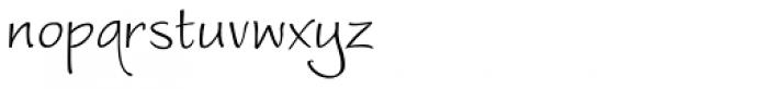 Worstveld Sling Font LOWERCASE