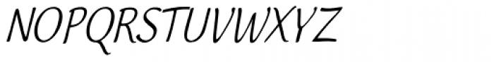 Worstveld Sting Condense Oblique Font UPPERCASE