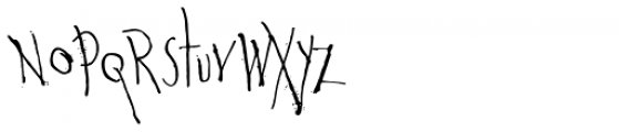 Wounds Font UPPERCASE