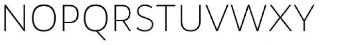 Wozniak Thin Font UPPERCASE