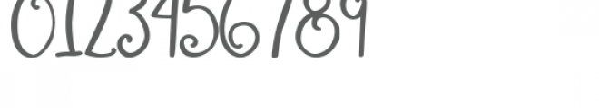 Wonderful Perfect Font OTHER CHARS