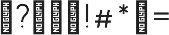 Wrangell Light otf (300) Font OTHER CHARS