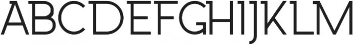 Wrangell Light otf (300) Font LOWERCASE