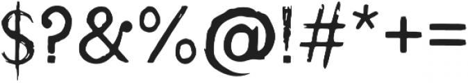 Wrathobia Regular otf (400) Font OTHER CHARS