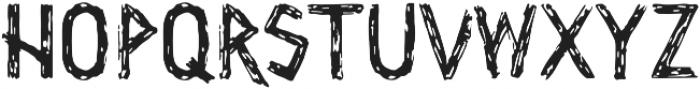 Wrathobia Regular otf (400) Font UPPERCASE