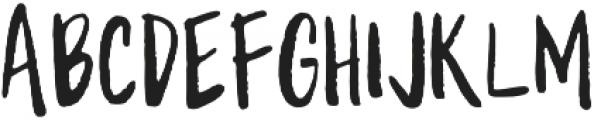 WriteHanded Regular otf (400) Font LOWERCASE