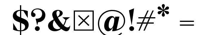Wremena-Bold Font OTHER CHARS