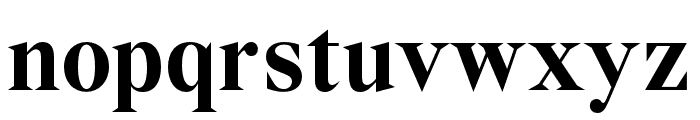Wremena-Bold Font LOWERCASE