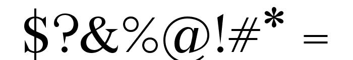 Wremena Font OTHER CHARS