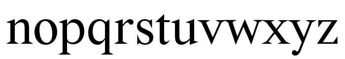 Wremena Font LOWERCASE