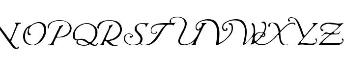 Wrenn Initials Light Font UPPERCASE