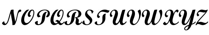 Wrexham Script Font UPPERCASE