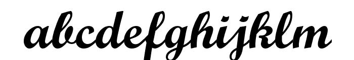 Wrexham Script Font LOWERCASE