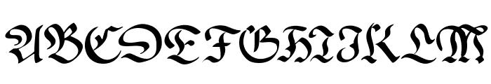 WrittenFrax Font UPPERCASE