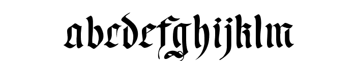 WrittenFrax Font LOWERCASE