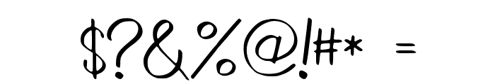 WrittenLies Font OTHER CHARS