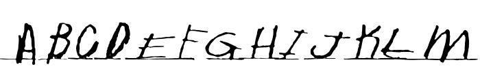 Writtenhouse Font UPPERCASE