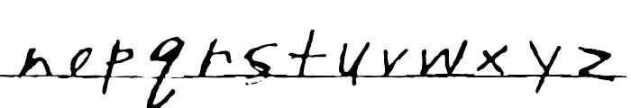 Writtenhouse Font LOWERCASE