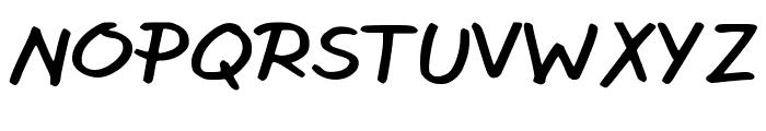 Wrusher Font UPPERCASE