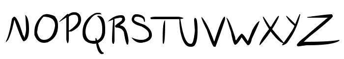 wrtty Font UPPERCASE