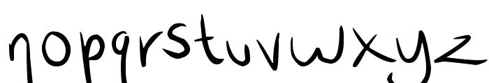 wrtty Font LOWERCASE
