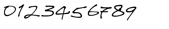 WriteHand Regular Font OTHER CHARS