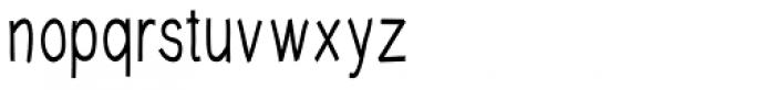 Write XCond DemiBold Font LOWERCASE