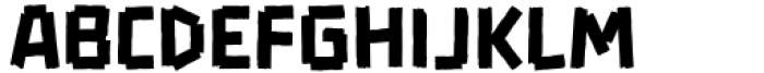 Wrong Regular Font LOWERCASE